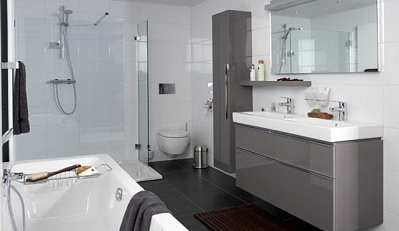Badkamer met Sphinx materialen « Interieur Wensen