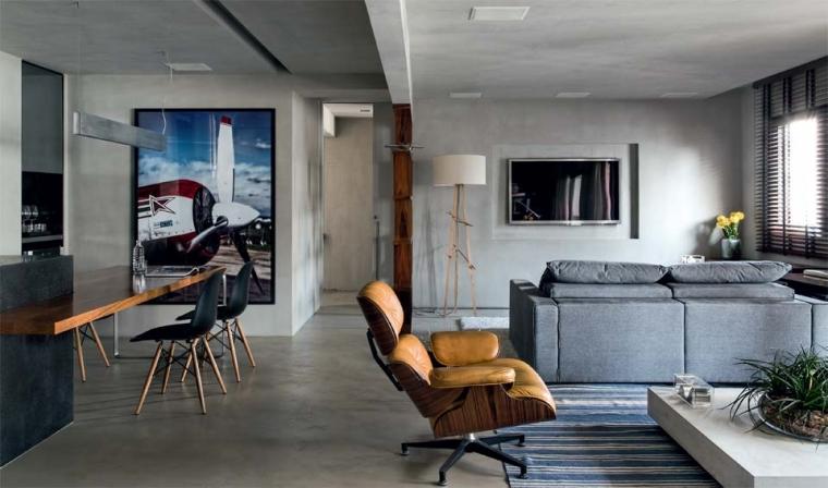 Betonlook verf als wandafwerking = 100% industrieel wonen « Interieur ...