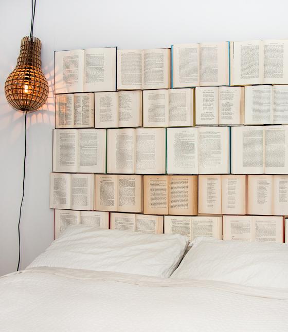 Boeken als hoofdeind