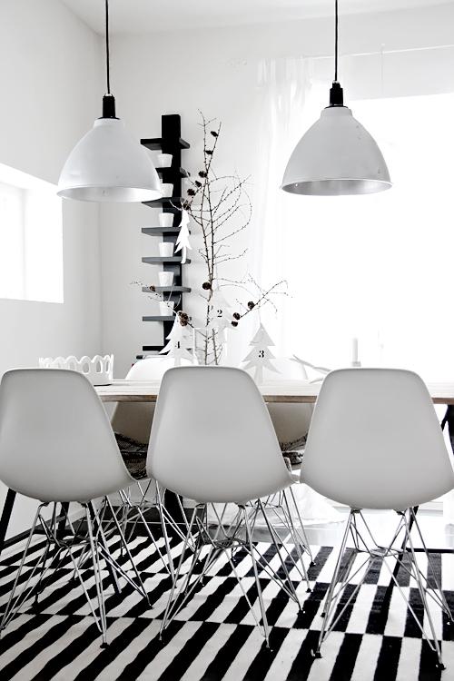 Zwart witte eetkamer « Interieur Wensen