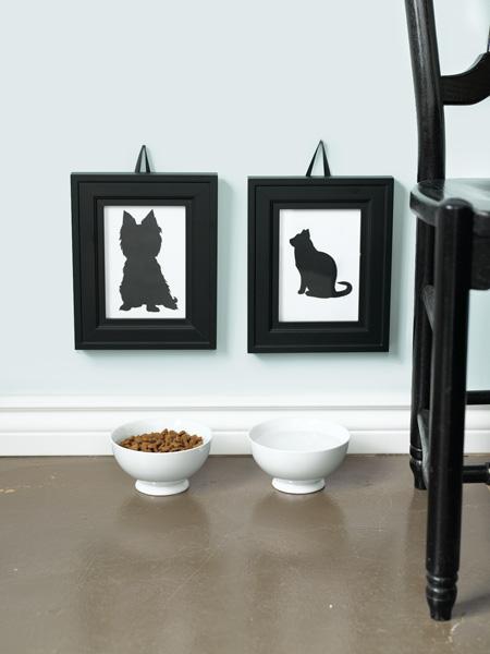 Fotolijstjes met kat en hond
