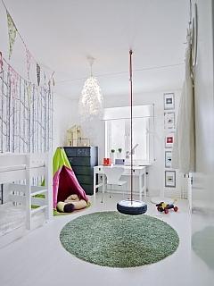 Kinderkamer met slinger