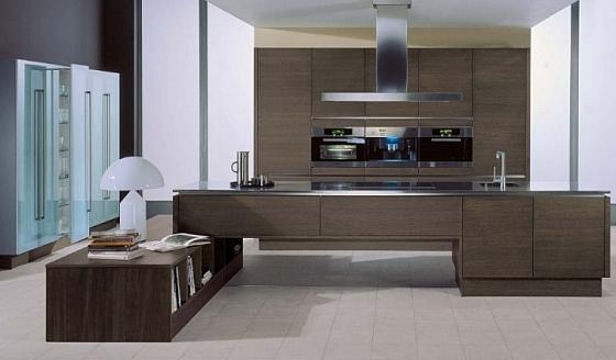 Moderne keuken met donker hout Â« interieur wensen