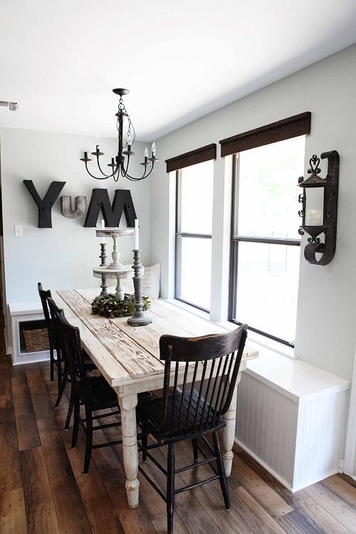 Eetkamer Tafel White Wash.Romantische Eetkamer Met Whitewash Tafel Interieur Wensen