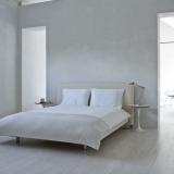 Simpele witte slaapkamer