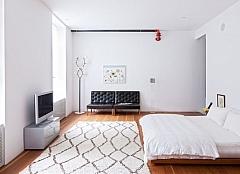Eenvoudige slaapkamer