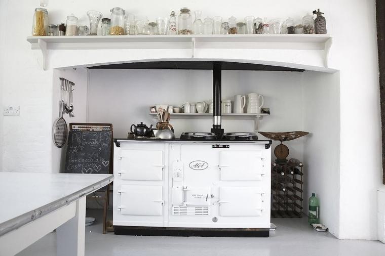 Greeploos Keuken Engels : Vrijstaande grote Engelse AGA boerderij oven om dagenlang
