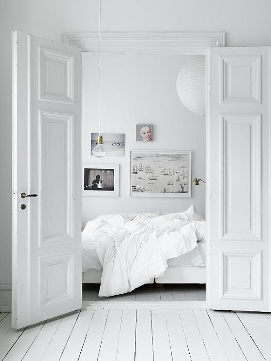 Sereen slapen in een wit slaapkamer interieur « Interieur Wensen